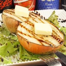 Onion oven-grilled