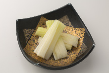 Lightly-pickled celery