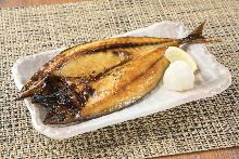 Lightly-dried mackerel