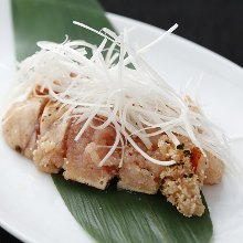 Seared spicy cod roe