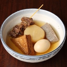 Fried tofu block (a type of oden)