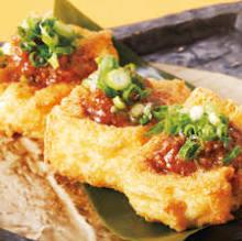 ● 厚揚げ豆腐の肉味噌付け(税抜)