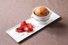 Baked pudding