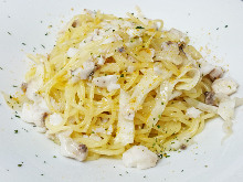 Pasta with dried mullet roe
