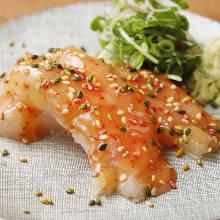 Salted fish guts