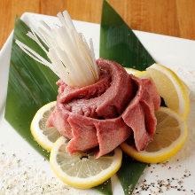 Premium beef tan-saki (tongue tip)