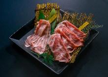 Assorted pork