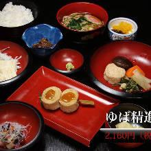 Yuba(tofu skin) meal set