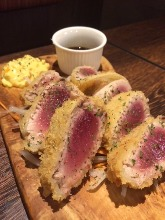 Tuna cutlet