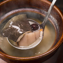 Softshell turtle golden soup