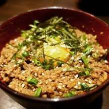 Soboro Gohan(Seasoned ground meat rice)