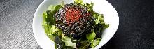 Wakame and Korean seaweed salad