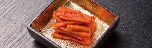 Chinese bellflower root kimchi