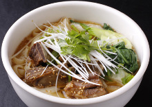 Chinese knife-cut noodles