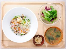 Other dishes served over rice