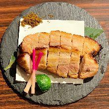 Grilled pork with Saikyo miso