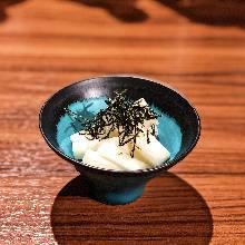 Chinese yam with wasabi dressing
