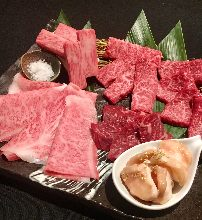 Assorted Wagyu beef