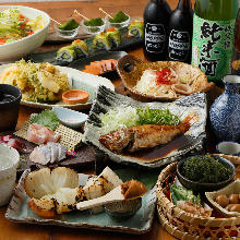 4,500 JPY Course (9  Items)