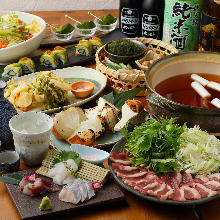3,500 JPY Course (8  Items)