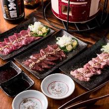 Torohatsu (beef heart) (yakiniku)