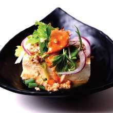 Tofu dish of the day