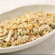 Fried rice with garlic