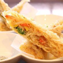 Tsutsumiage (deep fried)