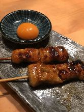 Grilled eel strips