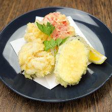 Milt tempura