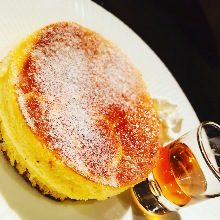 Creme brulee pancake
