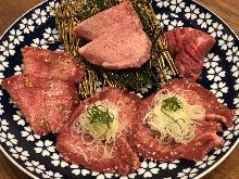 Assorted beef tongue