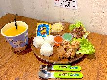 Kids' yakiniku set meal