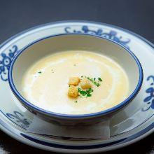 Cream of corn soup