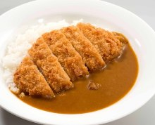 Pork loin cutlet curry