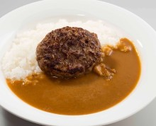 Hamburg steak curry