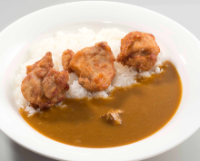 Fried food curry