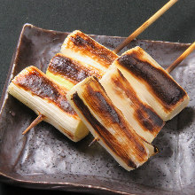 Japanese leek skewer