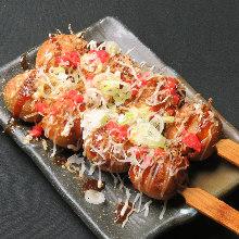 Fried takoyaki