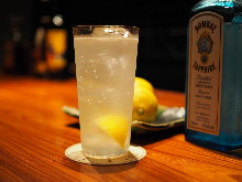 Hiroshima Lemon Gin and Tonic