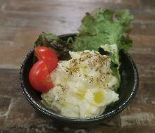 Beef potato salad