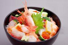 Makanai don (rice bowl originally made for staff meals)