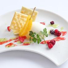 Cream cheese gelato