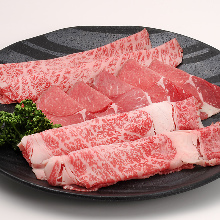 Assorted Wagyu beef, 3 kinds