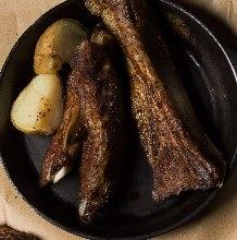 Boned pork ribs