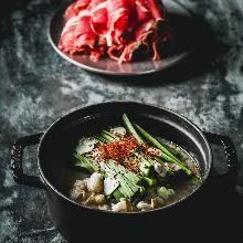 Wagyu beef offal hotpot