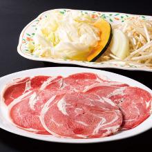 "Mongolian mutton barbecue (""Genghis Khan"")"