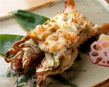 Yukinko-style grilled spiny lobster