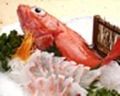 Kichiji rockfish sashimi