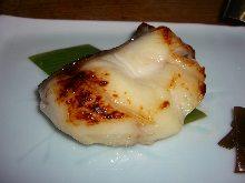 Grilled sablefish with Saikyo miso